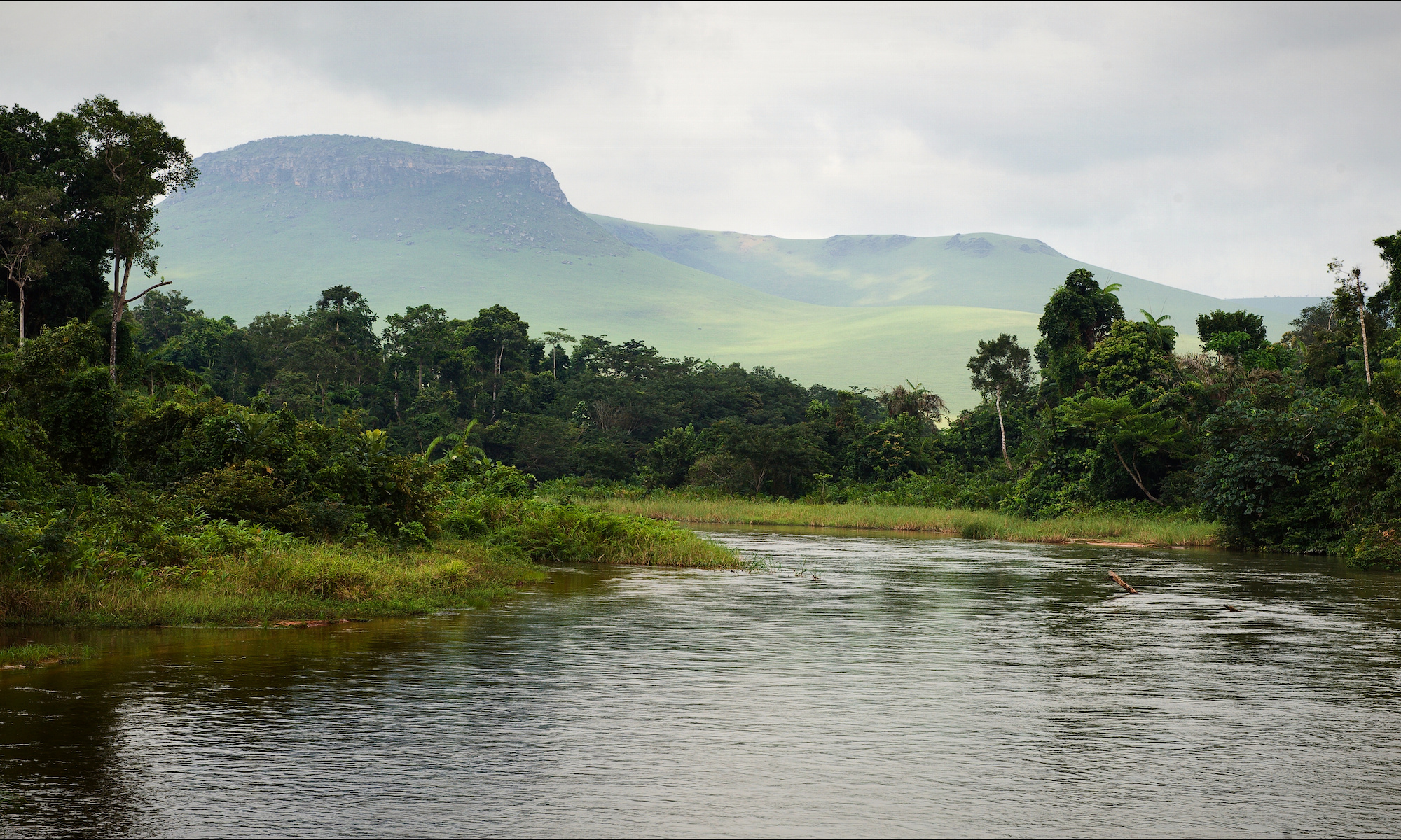 Riverscape in Congo