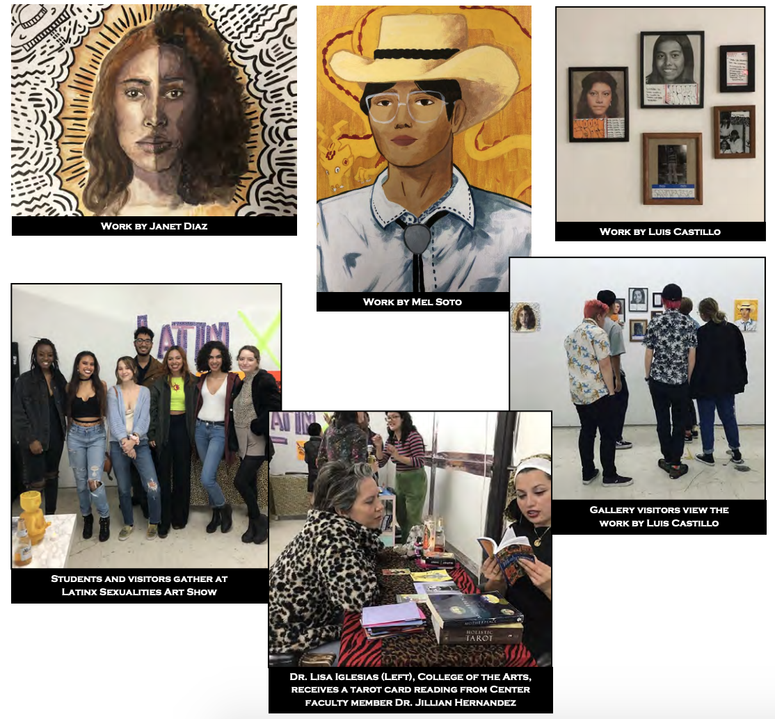 Center Students' Works Featured at Moisturizer Gallery